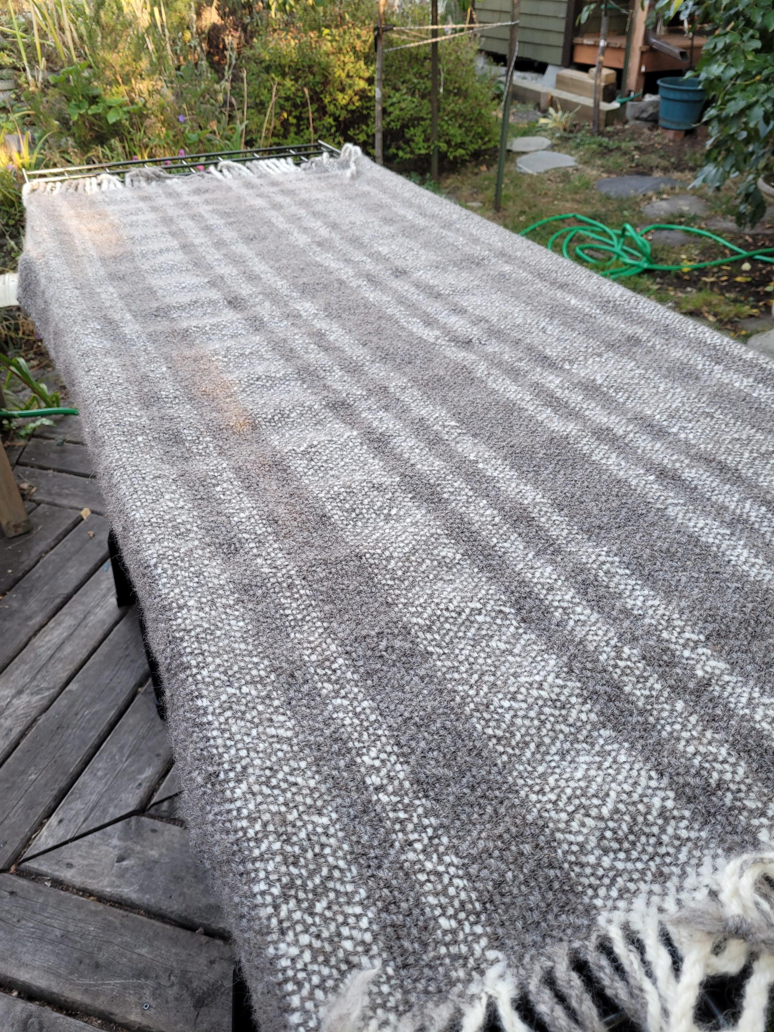 Bobbie W - Cotswold Lap Blanket