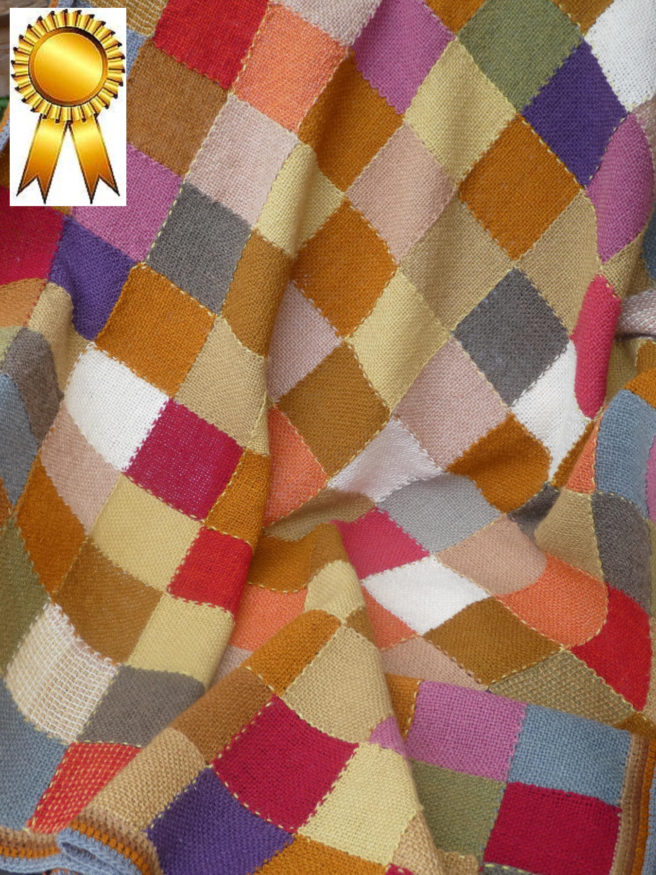 Jean B - Blanket of Many Colours