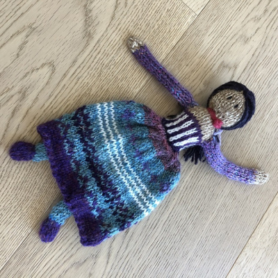 Lee -- knitted doll