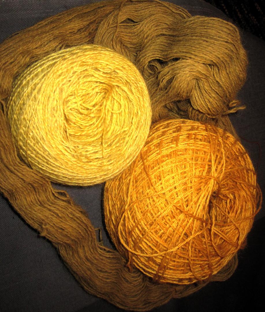 Bobbie's yellow yarn