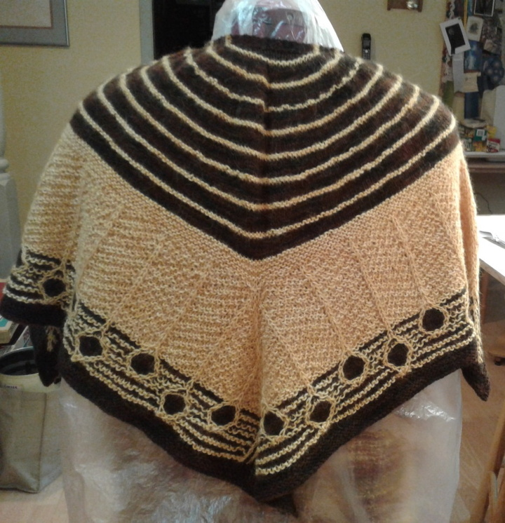 Christine's Shawl (back)