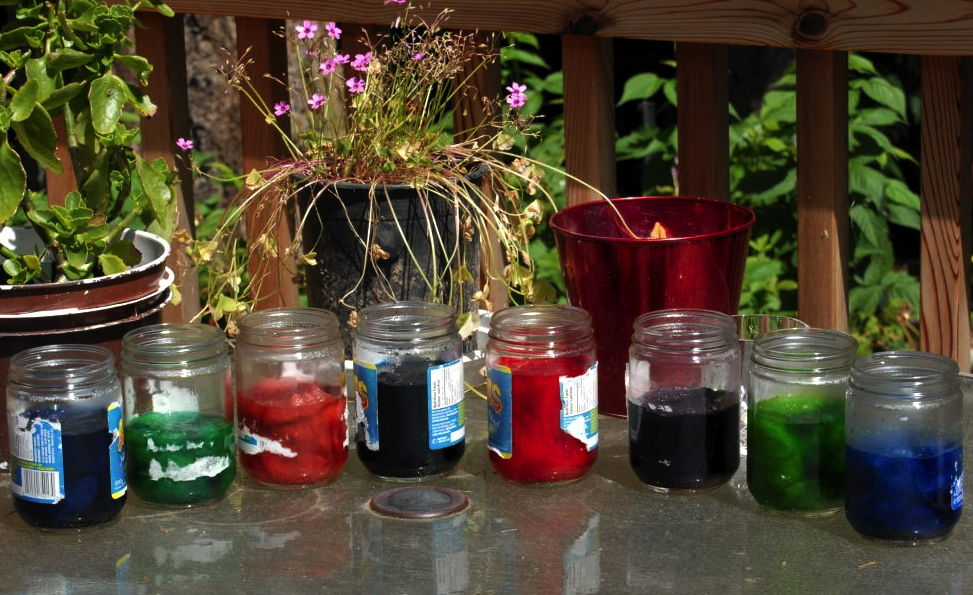 Donna's Food dyeing