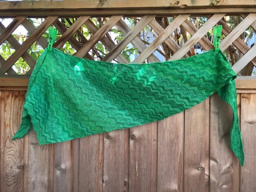 Glenda -- scarf/shawl