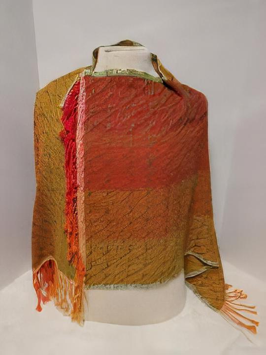 Cora - woven shawl