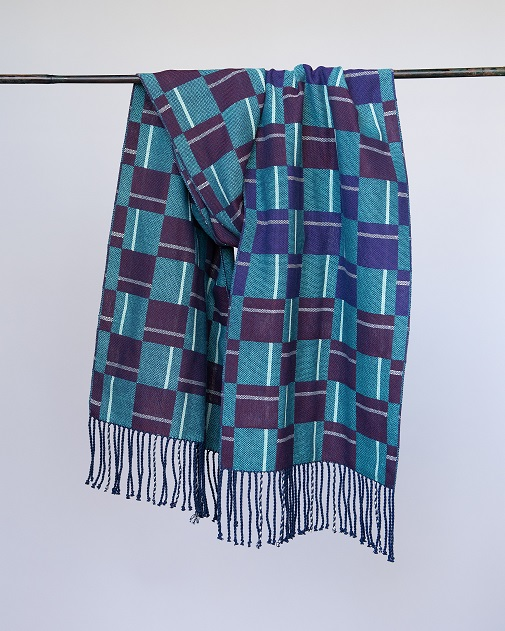 Sharon - Double weave scarf