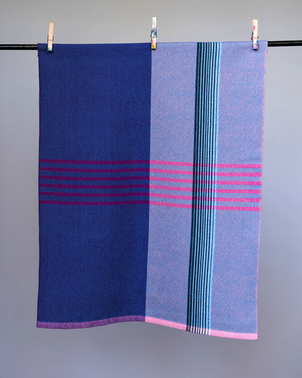Sharon -- plain weave towel